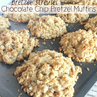 Pretzel Streusel Chocolate Chip Pretzel Muffins Recipe