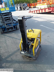 Picture of a ATLAS COPCO LG200 REVERSIBLE PLATE COMPACTOR