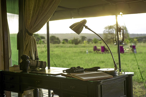 Fresh outlook: An inspiring open view of the Serengeti from the Kaskaz Mara camp. Picture: SUPPLIED