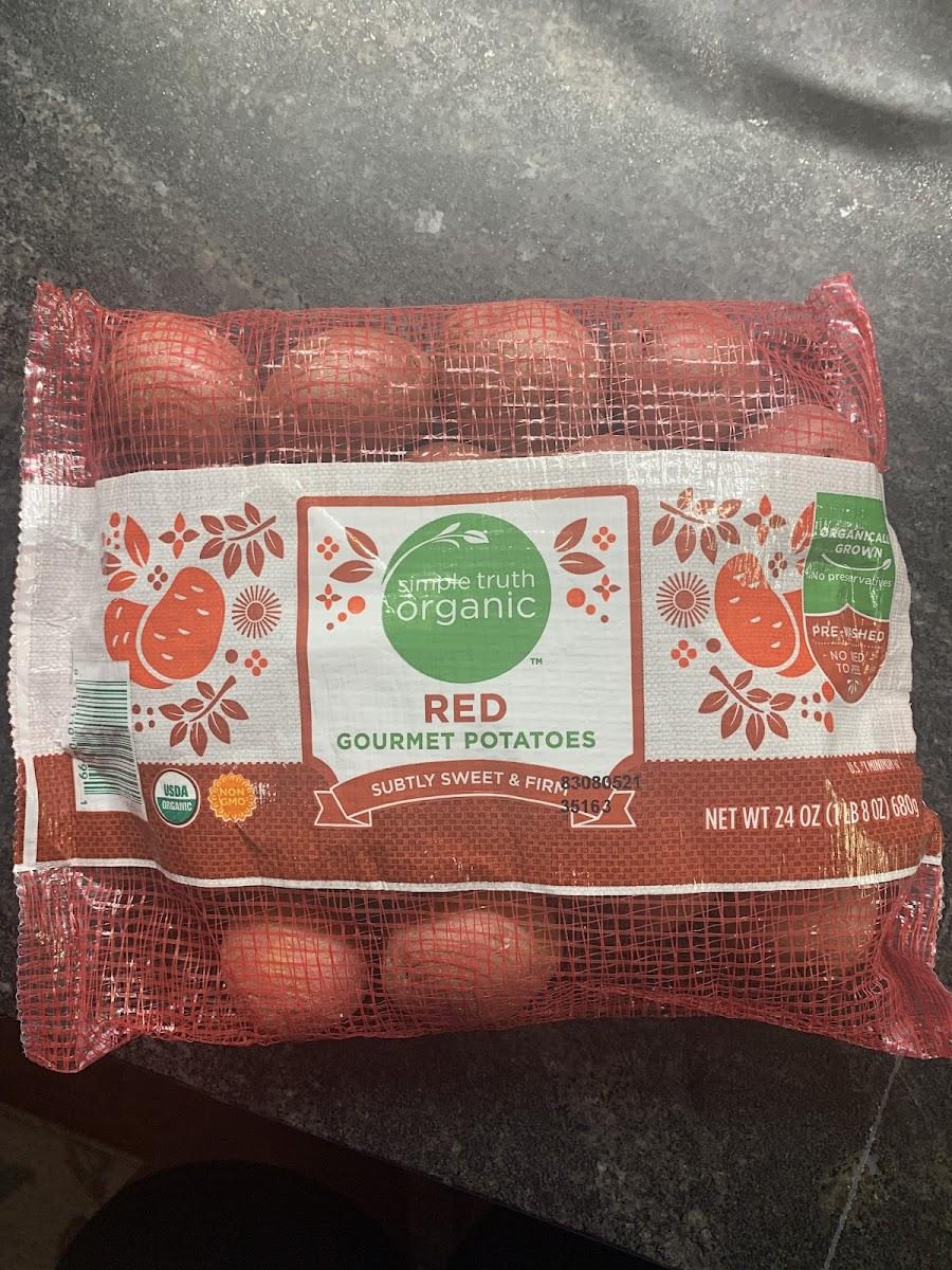 Red Gourmet Potatoes