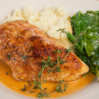 Chef for a Night – Paprika Chicken with Wine Sauce