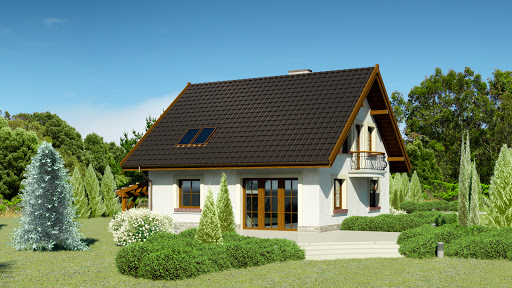 projekt Dom przy Cyprysowej 20 P