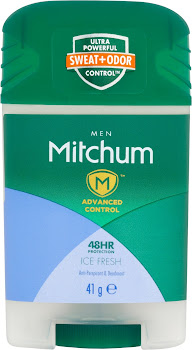 Mitchum Advanced Control Men 48HR Protection Ice Fresh Anti-Perspirant & Deodorant - 41g