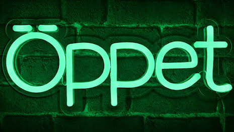 Öppet Led Grön Liten