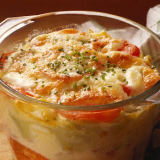 Macaroni with Cheese & Tomatoes Recipe