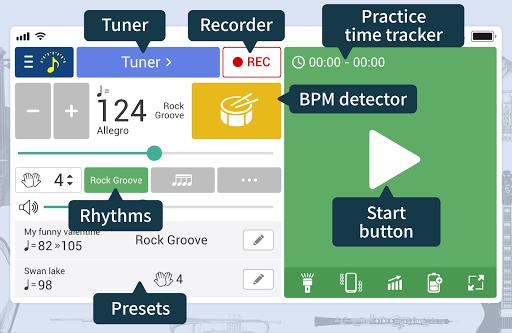 Tuner & Metronome 4.73 11