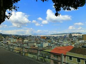 Photo: View of Quito from Centro de Arte Contemporáneo
