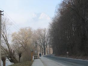 Photo: 03.Po słowackiej stronie Dunajca w drodze do Czerwonego Klasztoru (Červený Kláštor).  Dzisiaj postanawiam zobaczyć jak wyglądają Pieniny u południowych sąsiadów.