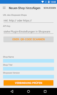 Mobile Shopmanager Shopware- screenshot thumbnail