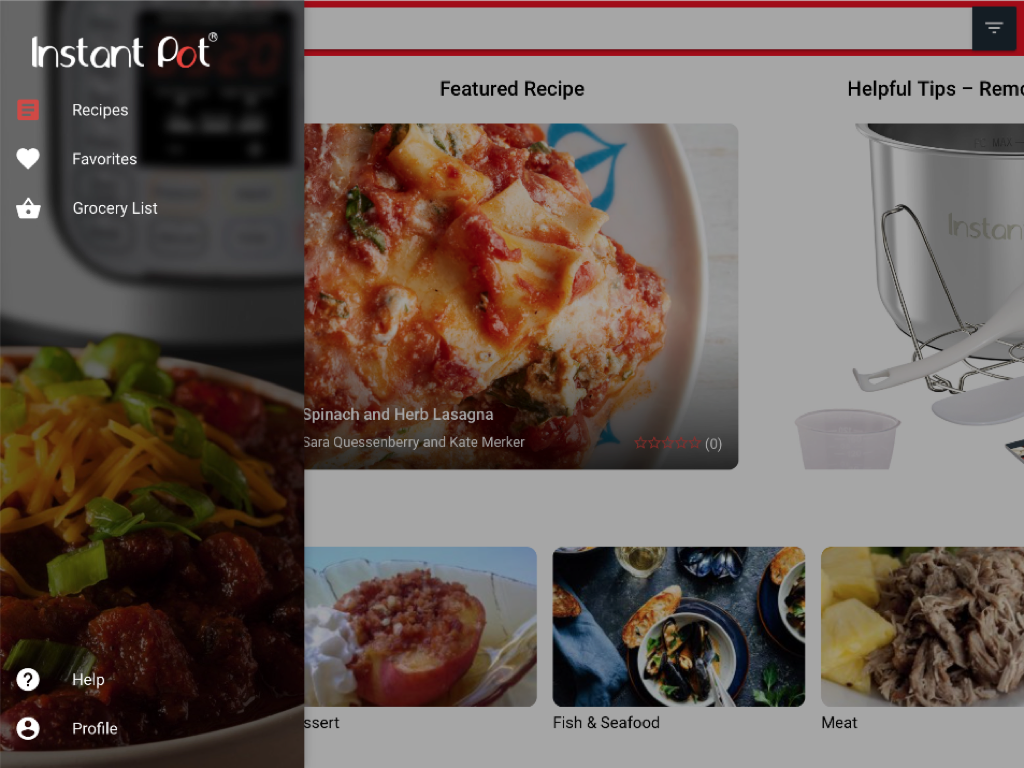 Instant Pot- screenshot