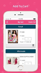 Surat Textiles - Wholesaler- screenshot thumbnail