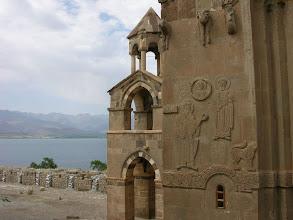 Photo: Looking across Van Lake from the Armenia church