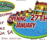 Opening 27th January - Water Slide 1st in SA : Clay Oven Junction - Lifestyle Venue