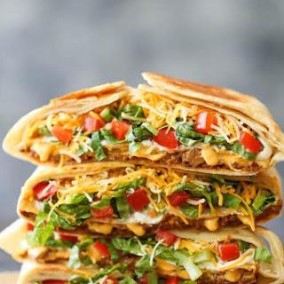 Homemade Crunch Wrap Supreme.