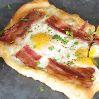 Fancy Bacon & Egg Crescent Squares