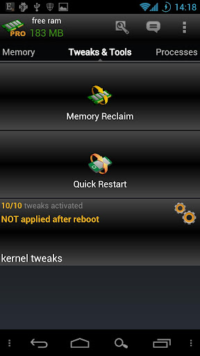 AutoKiller Memory Optimizer screenshots 3