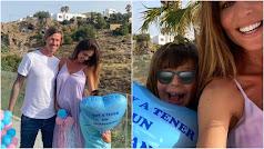 Dos de las imágenes compartidas por el ex madridista a través de su perfil en Instagram.