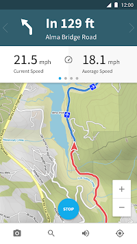 Komoot — Cycling & Hiking Maps APK screenshot thumbnail 8