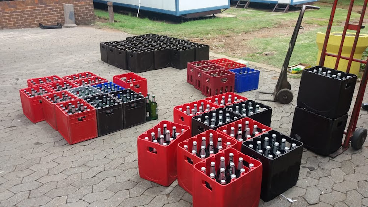Two people found selling liquor in Orlando and Noordgesig, in Soweto, are among 50 people arrested in Johannesburg.