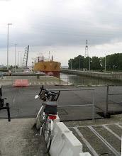 Photo: L'écluse de Kallo et son pont coulissant