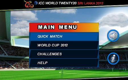 ICC T20 World Cup 2012 1.0.23 screenshot 252579