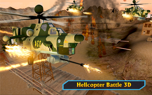Gunship Helicopter Air War Strike apkdebit screenshots 15