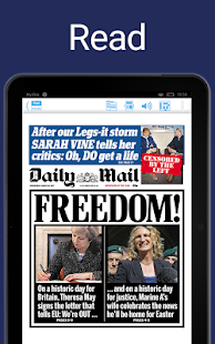 Daily Mail Plus- screenshot thumbnail