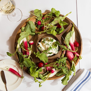 Boursin Dip with Radishes Recipe