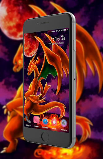 Mega X Charizard Wallpaper
