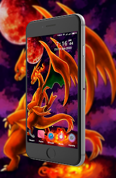 Mega X Charizard Wallpaper Poster