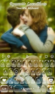 Romantic Love Photo Keyboard Theme - náhled