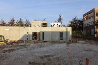 Photo: Vue générale du datacenter (Visite de chantier 2 Oct. 2014)