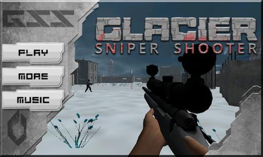 Glacier Sniper Shooting