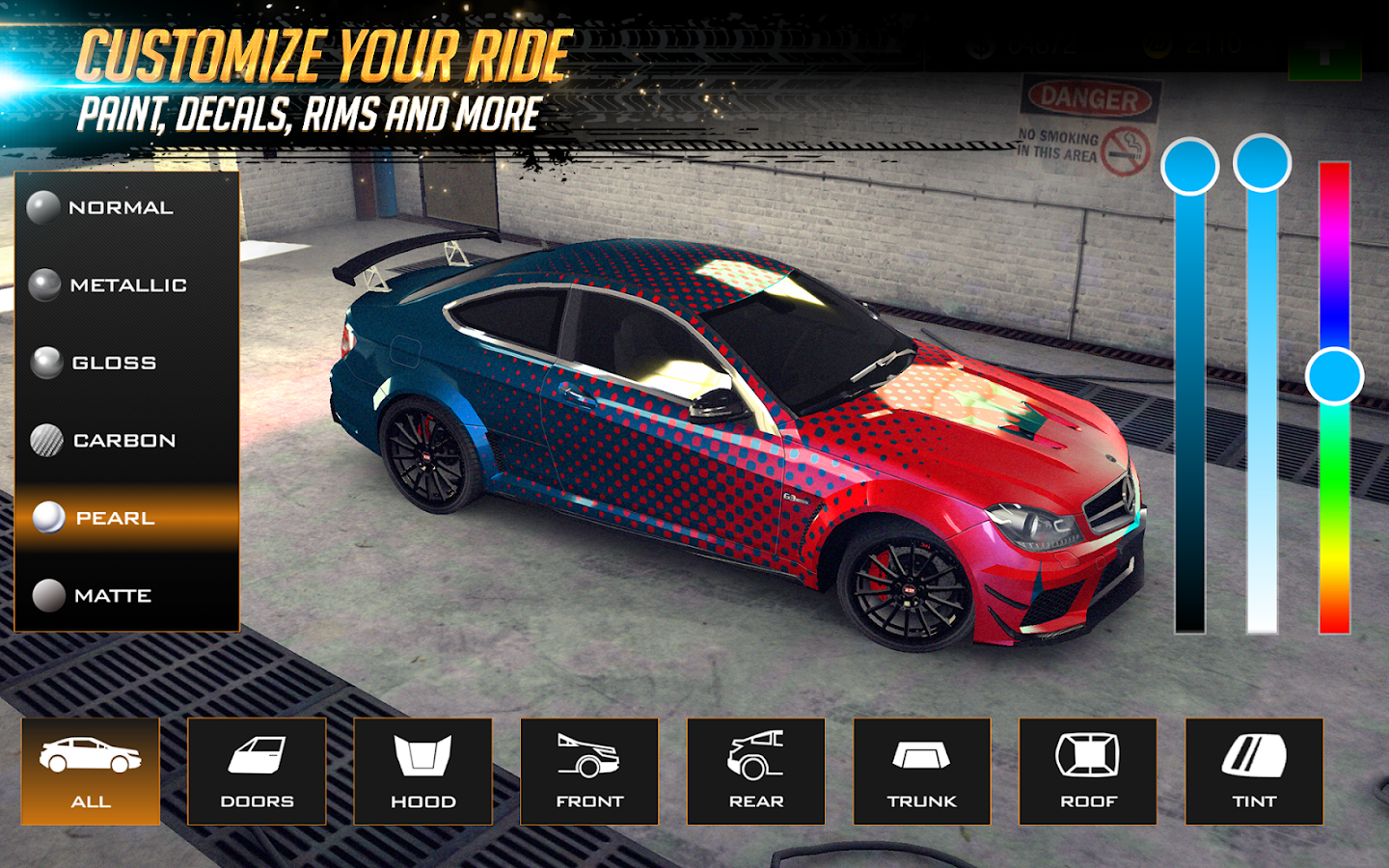 Screenshots of Nitro Nation Online for iPhone