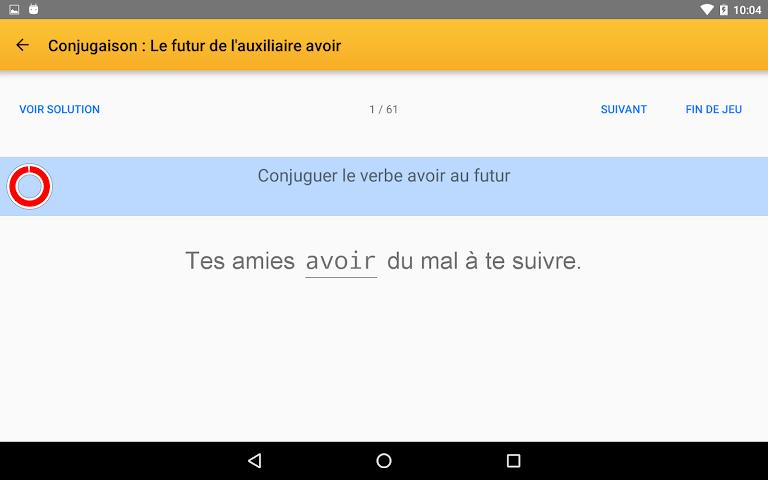 android Exogus CE2 Révision français Screenshot 16