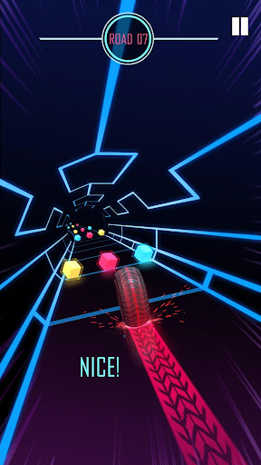 Roller Rush screenshot 1