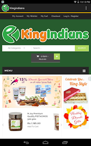 Kingindians Online Shopping screenshot 7