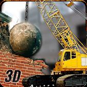 Wrecking Ball Demolition Crane