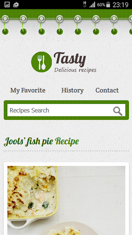 android Free Recipes Screenshot 5
