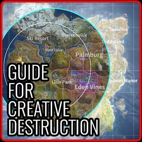 Guide for Creative Destruction