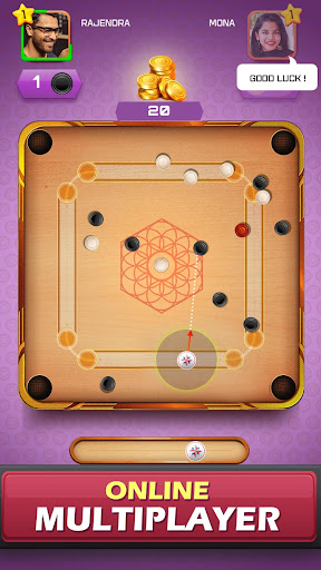 Carrom Friends : Carrom Board Game modavailable screenshots 15