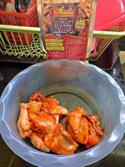 Rempah Ayam Madu Extra Pedas