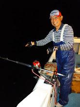 Photo: 戸田さんは、バリバリ釣ってます!