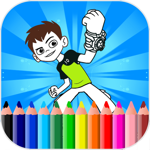 Coloring Pages For Ben Ten - Aliens
