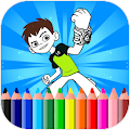 Coloring Pages For Ben Ten - Aliens APK