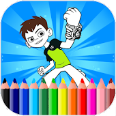 Coloring Pages For Ben Ten Mod