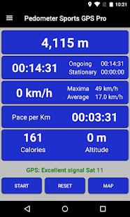 Pedometer GPS Sport PRO - náhled