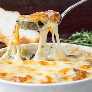 Cheesy Mushroom Dip.