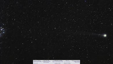 Photo: I got a respectable Comet Lovejoy this past Monday with the Canon 7D on a tracking mount and zoom lens. 102 x 1min subs at ISO1600. DSS did the heavy lifting for me!