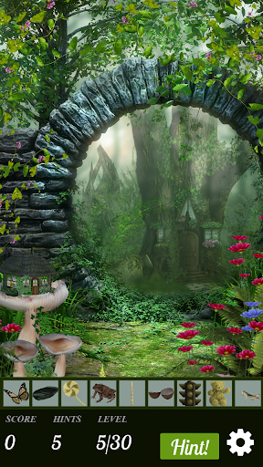 Hidden Object - Fairywood Thicket - screenshot